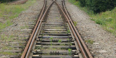 線路 分かれ道