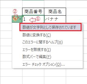 VLOOKUP関数文字列エラー説明図