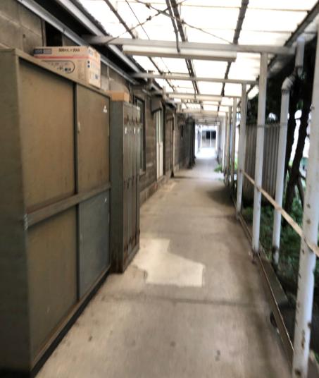 慶応義塾大学病院 外廊下