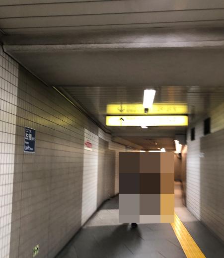 六本木駅 通路