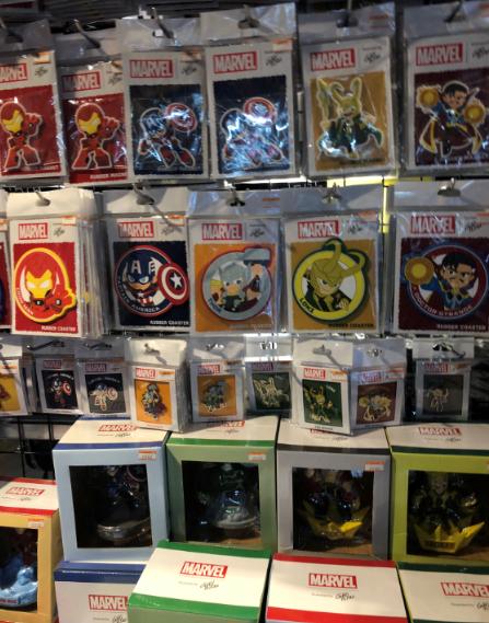 ヴィレッジヴァンガード渋谷本店の店内