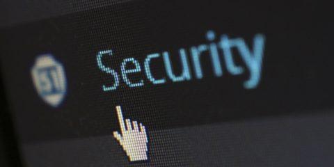 パソコン セキュリティ画面