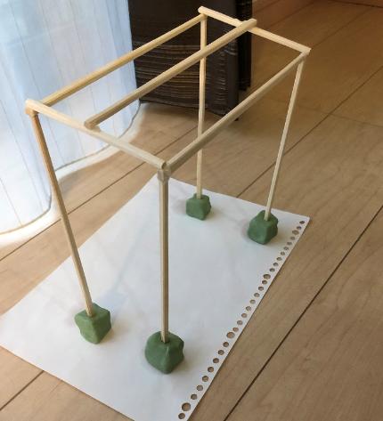 サイクルハウス簡易模型