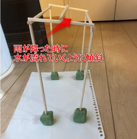 自転車置き場簡易模型