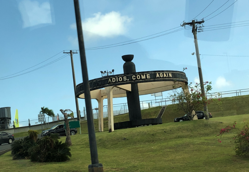 グアム国際空港 周辺