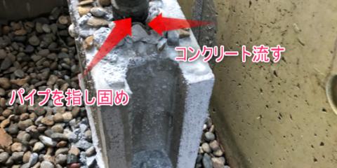 ブロックとコンクリートとパイプとレンガ