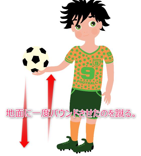 サッカー少年 イラスト