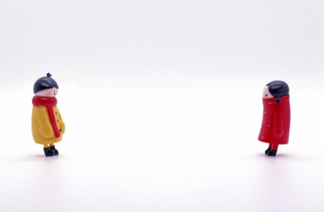 2つの人形