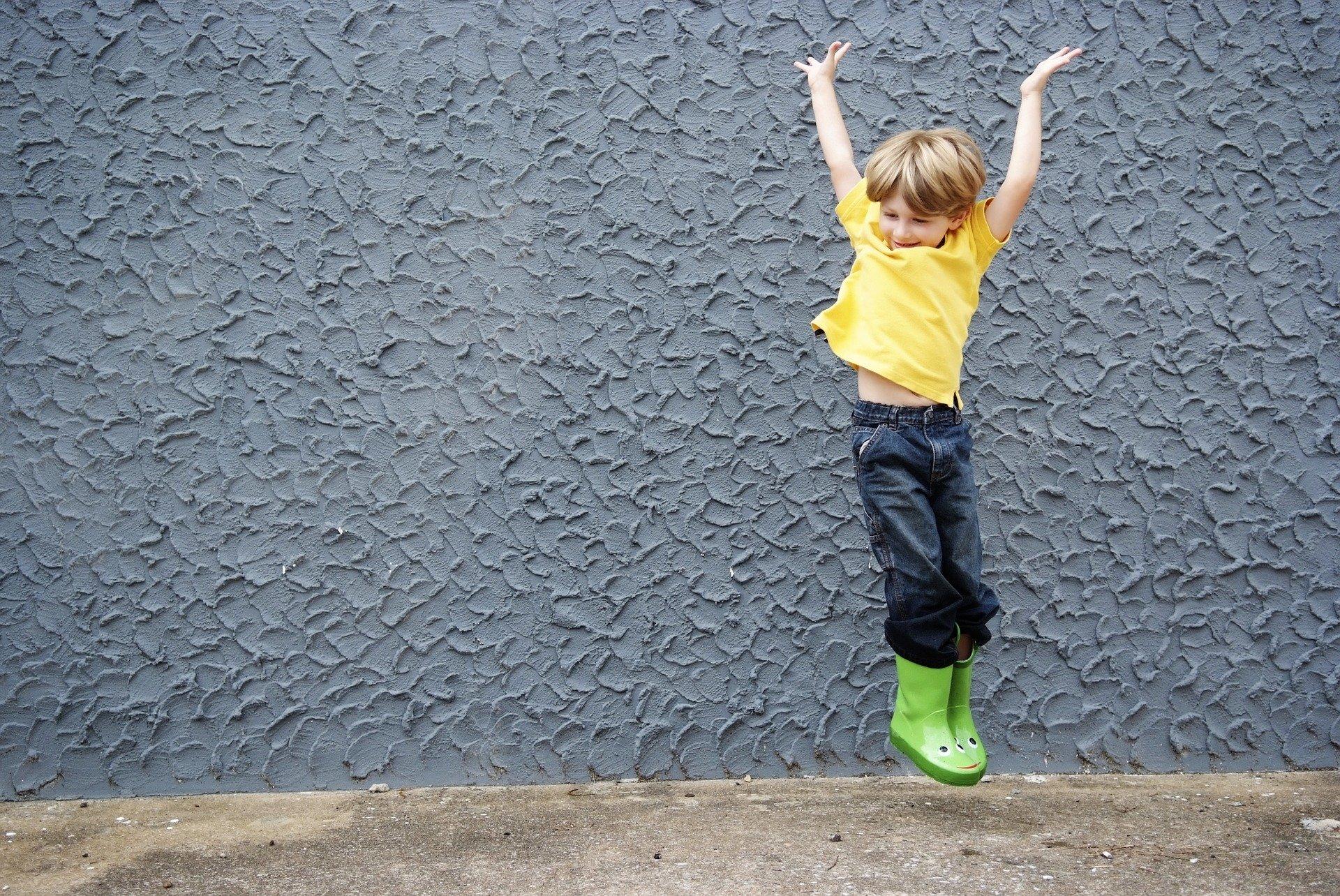 子ども ジャンプ