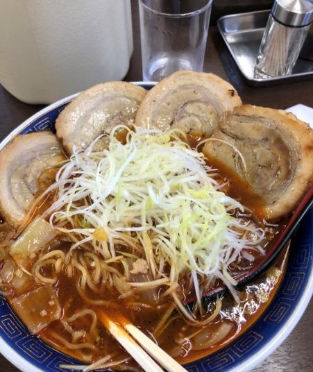 勝浦担々麺 江ざわ チャーシュー担々麺