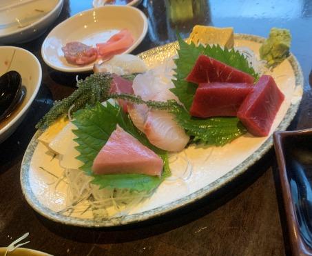 石垣島のマグロ専門店「ひとし」料理